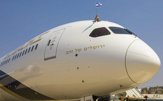 """המטוס לאחר הנחיתה בנתב""""ג   צילום: עופר חג'יוב"""