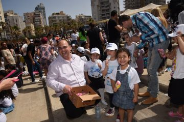 אלפי ילדים והורים חגגו עצמאות מוקדם