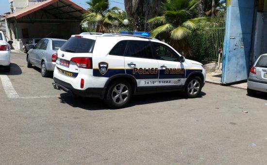 ניידת משטרה  צילום: השומרים
