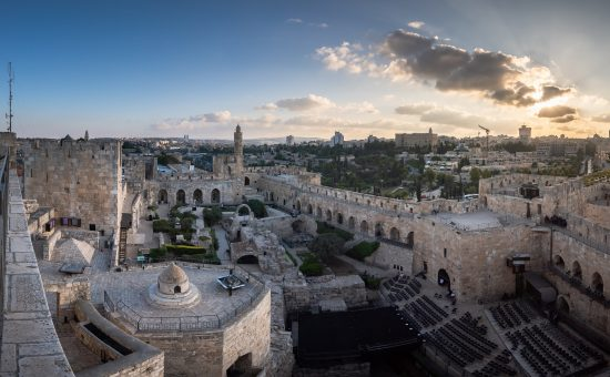 תצפית מגדל דוד   צילום: איתי מוניקנדם