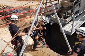 בני ברק: הופסקו עבודות הרכבת בשבת