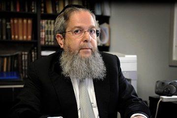 """הרב זלמנוביץ: """"לדחות את חקירת ראש ממשלה עד לאחר סיום תפקידו"""""""