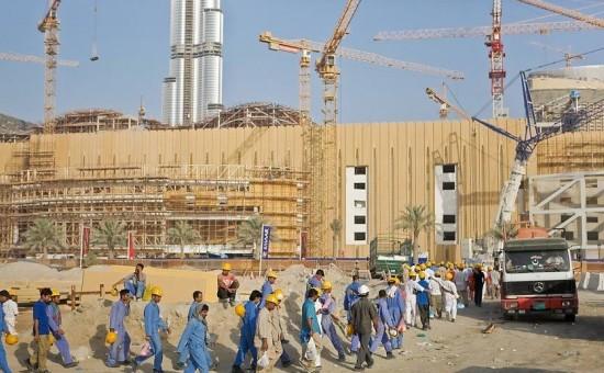 פועלים באתר בניה. אילוסטרציה