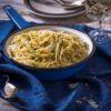 מתכון מהיר להכנת ספגטי ברוטב חמאה, שום, פטרוזיליה ופרמזן