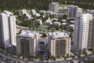 שני מגדלים נוספים בפרויקט גבעת אלונים