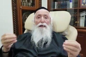 """ממיטת חוליו הגרי""""ד גרוסמן בקריאה נרגשת למען השבת: """"וגם תתפללו עליי"""""""