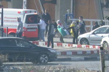 צפו: ה'אמבולנס' שהסיע מתפרעים פלסטינים