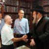 """הנהלת """"לאומית"""" בבני ברק  התברכה לשנה טובה אצל  גדולי ישראל"""