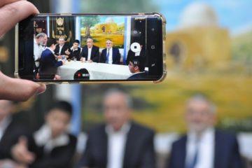 המונים בפתיחת 'עונת הבקשות' בבית הכנסת אבוהב בצפת | גלריה ווידיאו