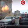 צפו: באור יום פוצץ המחבל ברכבו, בלב קייב