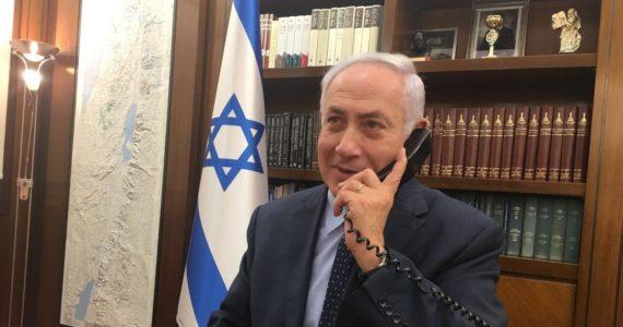 """""""הרגשתי שמדינה שלימה מאחוריי"""" • האזינו לשיחת ראש הממשלה עם המאבטח"""