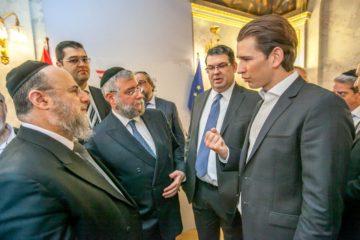 שֶׁנָּתַן מִכְּבוֹדוֹ • ב'ועידת רבני אירופה' מברכים על בחירתו של קורץ כקנצלר אוסטריה