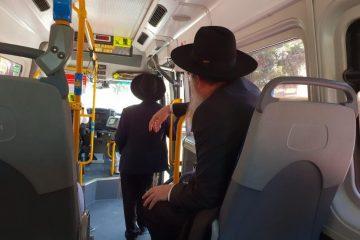 כשראש העיר הפתיע את נוסעי התחבורה הציבורית