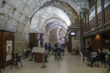 במנהרות הכותל נחשפים נדבכים חדשים לעומקו של הכותל המערבי וכן תיאטרון עתיק