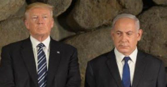 """בשמאל מאשימים: """"טראמפ שילם מס שפתיים על ההתנחלויות, אז נתניהו מתעלם מהתבטאויותיו האנטישמיות"""""""