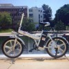 הסוף לגנבות: נתפס גנב אופניים חשמליים סדרתי