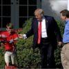 ילד בן 11 הגשים חלום: גזם את הדשא בבית הלבן