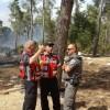 מירון בערה: צפו בלוחמי האש נלחמים בשריפה במירון