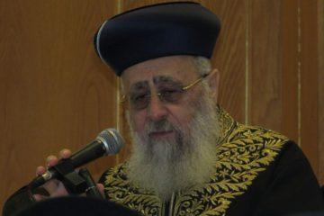 """האם יחתמו גדולי ישראל על כתב הנידוי שקורע את ש""""ס"""
