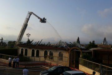 חרדי מבית שמש חשוד בהצתת בית כנסת בעיר