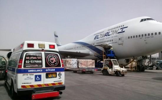 ארכיון: אמבולנס לב מלכה בפינוי משדה התעופה