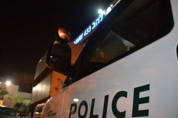 צפו: הבריחה והמעצר של פורץ