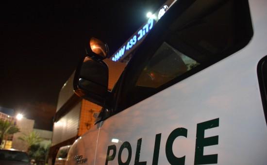 ניידת משטרה  צילום חטיבת דובר המשטרה