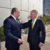 צפו: שר הבטחון אביגדור ליברמן נפגש עם מזכיר ההגנה האמריקני