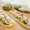 פוקאצ'ה גבינה כחולה עם תאנים • המתכון של השפית נילי כהן-מינץ