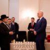היסטוריה באלבניה; נר חנוכה במעון ראש הממשלה