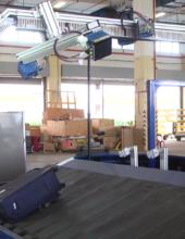 התעשייה האווירית מציגה: מערכת רובוטית חדשנית לטיפול בכבודה בשדות תעופה