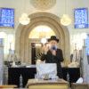 """תיעוד: הגרי""""מ לאו והגר""""ד יוסף ספדו בשבעה לצלם הרבנים"""