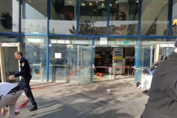 מחבל פצע מאבטח בתחנה המרכזית בירושלים