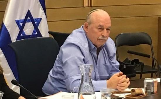 """יו""""ר ועדת חוקה חבר הכנסת סלומיאנסקי (צילום: דף הפייסבוק)"""