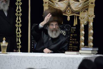 """האדמו""""ר מסדיגורה ערך את הטיש לרגל הילולת זקנו 'הכנסת מרדכי'"""