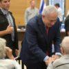ראש הממשלה בנימין נתניהו ורעייתו נפגשו היום בכנסת עם ניצולי שואה