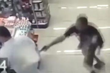 השוטר ירה למוות בשודדים – כשבידו אחז תינוק