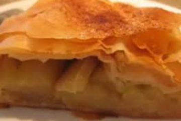 מתכון: מאפה פילו תפוחים מופחת סוכר