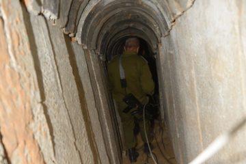 """צפו: צה""""ל פוצץ עוד מנהרת טרור"""