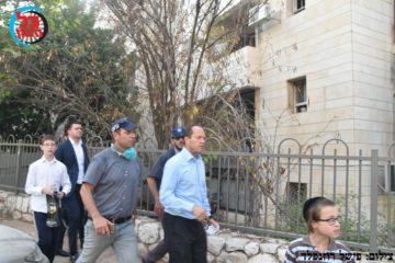 הסכנה בשריפת הענק בירושלים חלפה: חשד להצתה מכוונת