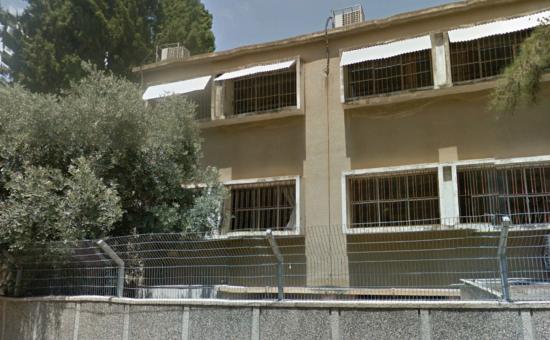תיכון בית יעקב חיפה (צילום: Google Earth)