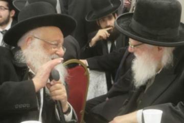 מסע מיוחד לחיזוק הקהילה: ראש ישיבת פוניבז' הגאון ר' ברוך דוב פוברסקי בביקור בגייטסהד