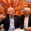 הנשיא ריבלין ועמיתו הגרמני סיירו בשוק מחנהיודה
