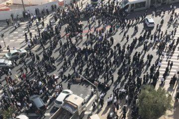 """""""לא תחסום"""":  קולות בציבור החרדי נגד 'יום הזעם' של הפלג הירושלמי"""