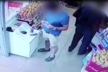 צפו: גנבו הוברבורד ומכונות קפה • לאחר חקירה נעצרו