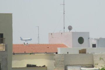 בלעדי: air force1 • צפו: כך נראתה הנחיתה מתוך המטוס