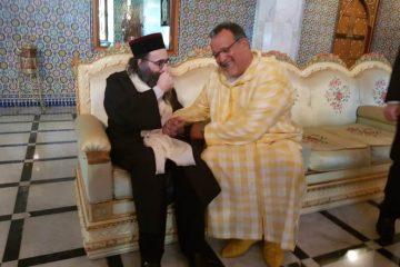 """הגר""""י פינטו נפגש עם חבר הפרלמנט הבכיר"""