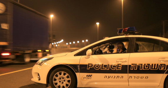 שוב: נסיון הימלטות מהמשטרה הסתיים בתאונות דרכים