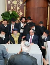 נחנך בית הכנסת מרכזי ספרדי בגילה