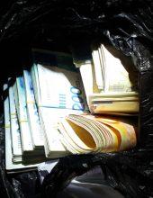 בשקית אשפה: עשרות אלפי שקלים מ'כספי טרור'